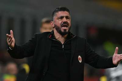 Gattuso hoping to continue with 'great honour' of coaching Milan