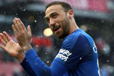 Everton star Walcott: Tosun is a winger's dream