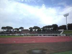 Mitsuzawa Park Athletic Track & Field Stadium, Yokohama