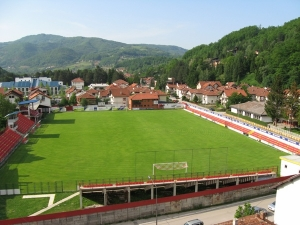 Stadion kraj Moravice