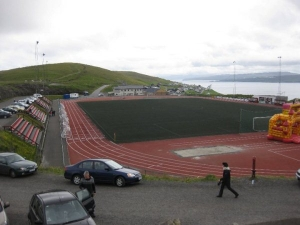 Svangaskarð (graslíkisvøllur), Toftir, Eysturoy