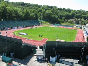 Withdean Stadium, Brighton, East Sussex