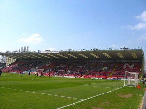 Sincil Bank Stadium, Lincoln, Lincolnshire