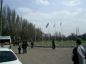 Stadion Tytan, Zaporizhzhya (Zaporozh'ye)