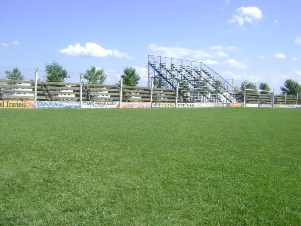 Estadio Delio Esteban Cardozo, Pronunciamiento, Provincia de Entre Ríos