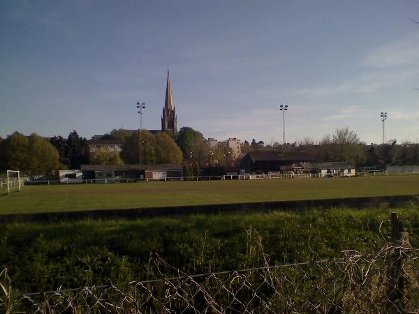 Meadowbank Stadium, Dorking, Surrey