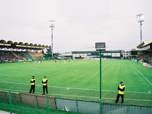 Stadion Górnik, Łęczna