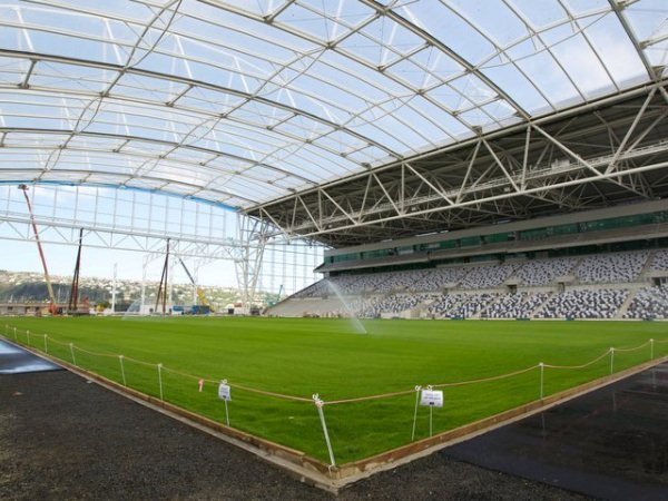 Forsyth Barr Stadium at University Plaza, Dunedin