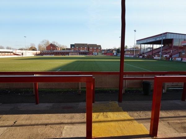 The J. Davidson Stadium, Altrincham, Cheshire