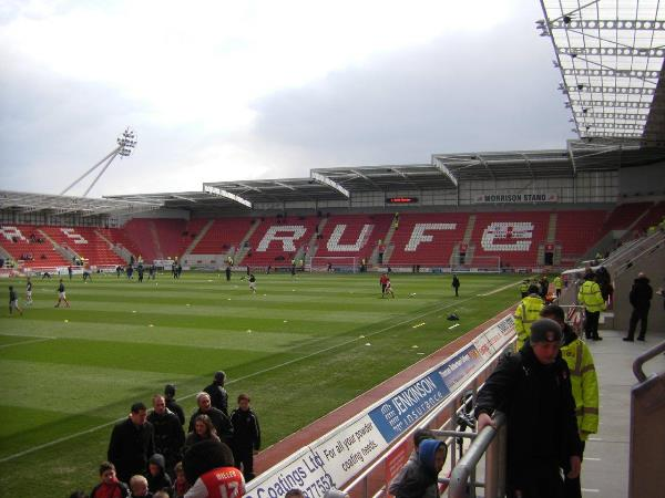 AESSEAL New York Stadium, Rotherham, South Yorkshire
