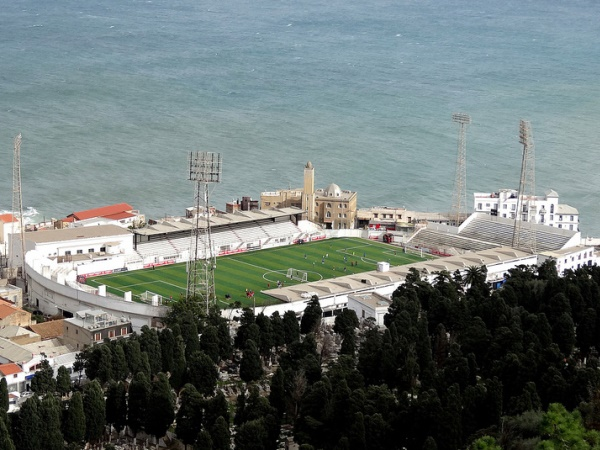 Stade Omar Hamadi, al-Jazā'ir (Algiers)