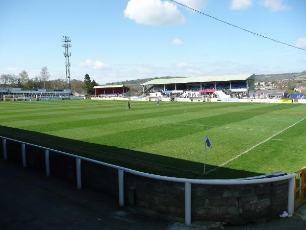 Twerton Park Stadium, Bath, Somerset