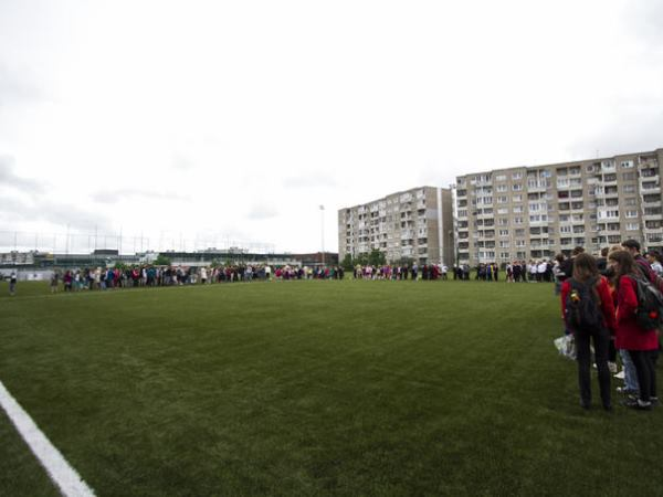 Fabijoniškių mokyklos stadionas, Vilnius