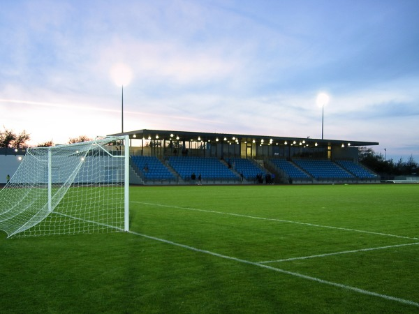 Footes Lane Stadium, St. Peter Port (Guernsey, Channel Islands)