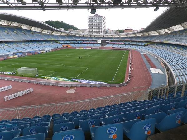 Estadio Municipal de Anoeta, Donostia-San Sebastián