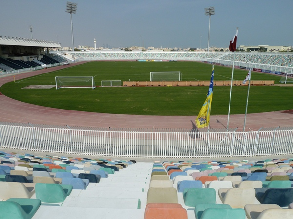Hamad bin Khalifa Stadium (Al-Ahli Stadium), ad-Dōha (Doha)