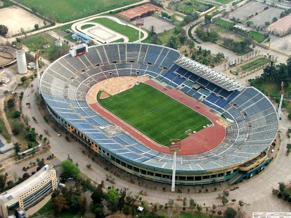 Estadio Nacional Julio Martínez Prádanos, Santiago de Chile