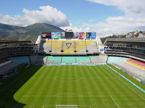 Estadio de Liga Deportiva Universitaria, Quito