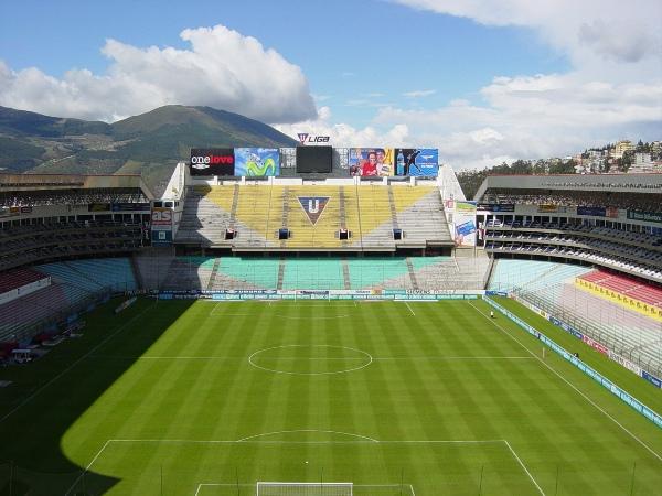Estadio Rodrigo Paz Delgado, Quito