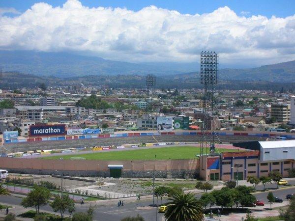 Estadio Olímpico de Riobamba, Riobamba