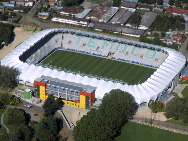 Estadio Municipal Bicentenario Germán Becker, Temuco