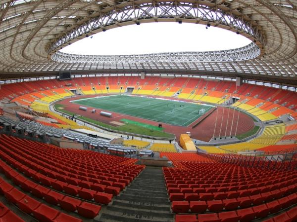 Olimpiyskiy stadion Luzhniki, Moskva