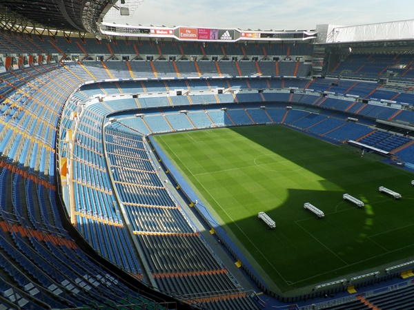 Estadio Santiago Bernabéu, Madrid