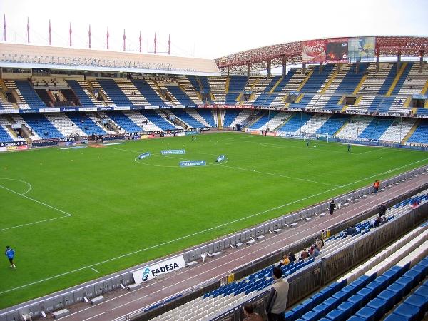 Estadio Municipal de Riazor, A Coruña (La Coruña)