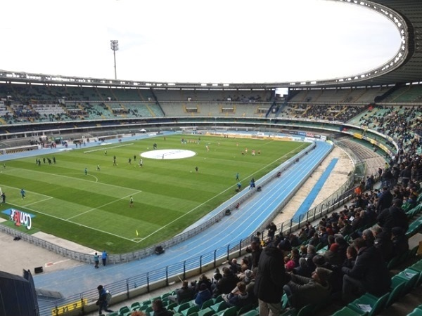 Verona: The anti-stadium of Hellas with the new synthetic turf