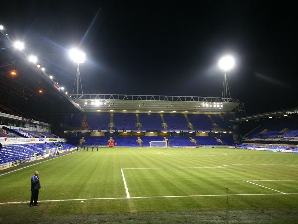 Portman Road Stadium, Ipswich, Suffolk