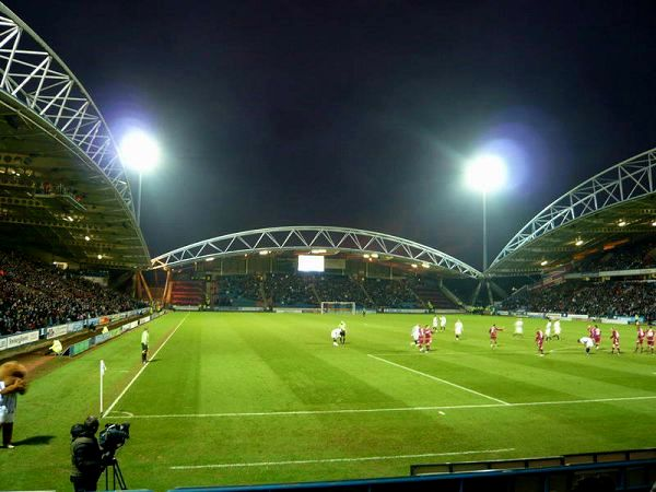 The John Smith's Stadium, Huddersfield, West Yorkshire