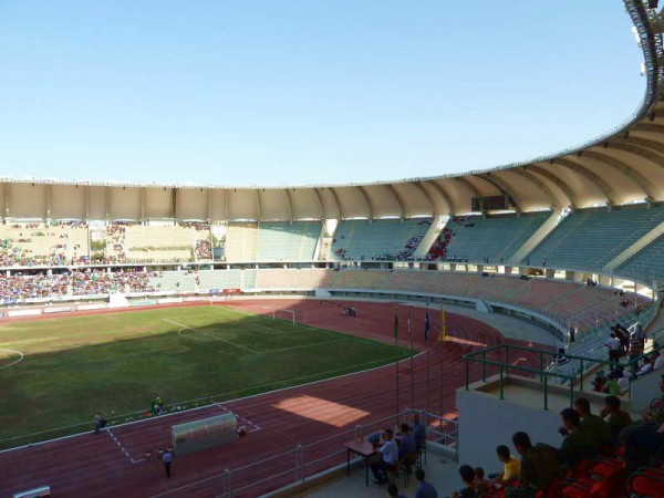 Saparmyrat Türkmenbaşy Adyndaky Olimpiýa Stadiony, Aşgabat (Ashgabat)