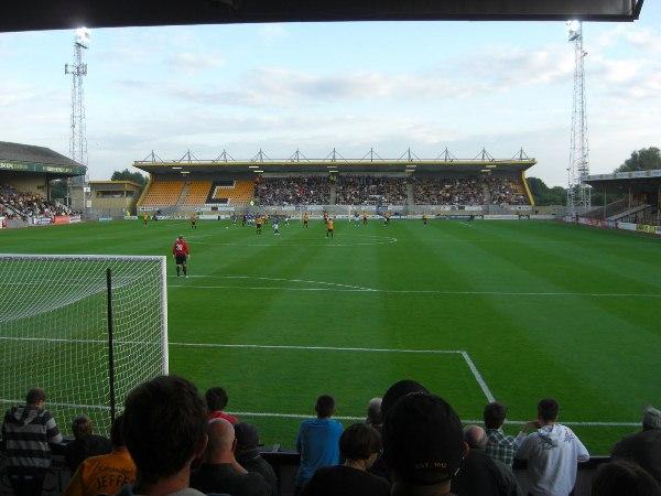 LCI Rail Stadium, Cheltenham, Gloucestershire