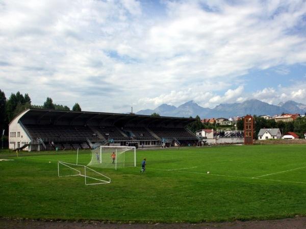 Futbalový štadion NTC Poprad, Poprad