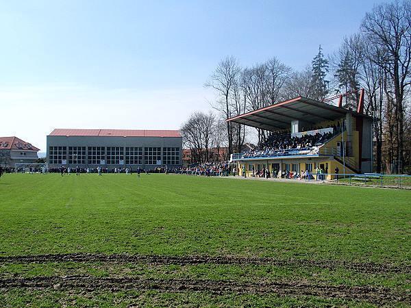 Stadion FC TVD Slavičín, Slavičín