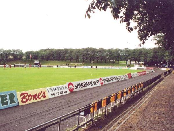 Riisvangen Stadion, Århus