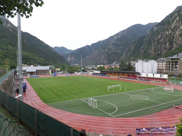 Estadi Comunal d'Andorra la Vella, Andorra la Vella
