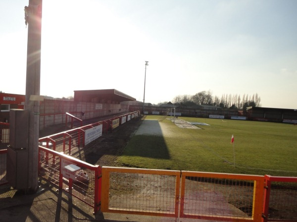 Help For Heroes Stadium, Northwich, Cheshire