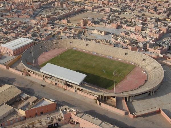 Stade Cheikh Mohamed Laghdaf, Laâyoune
