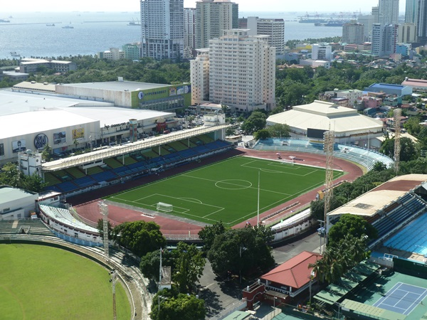 Rizal Memorial Stadium, Manila