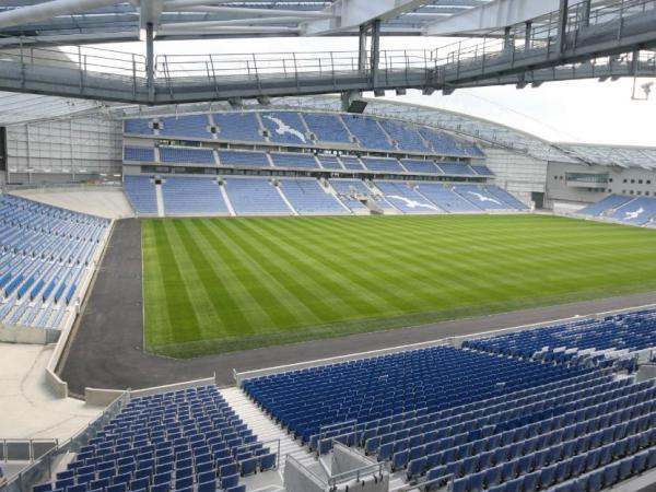 The American Express Community Stadium, Falmer, East Sussex
