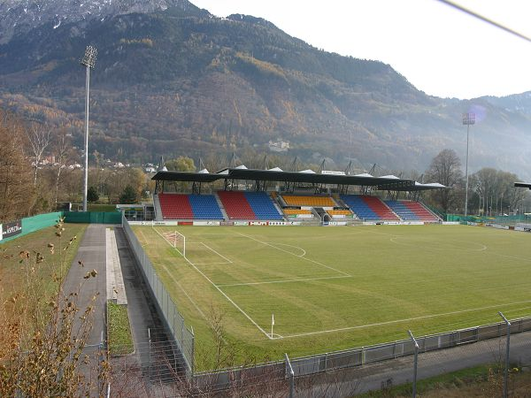 Rheinpark Stadion, Vaduz