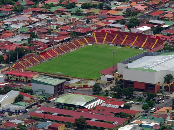 Estadio Eladio Rosabal Cordero, Heredia